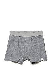 WOOL Shorts Boys - PEARL GREY MELANGE