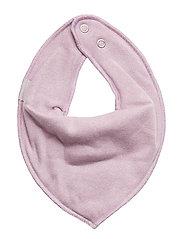 Cotton Bibs - Triangle - LAVENDER