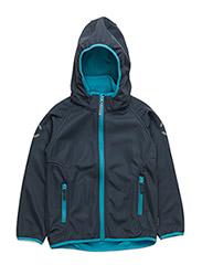 Softshell boy jacket - CYAN BLUE 232