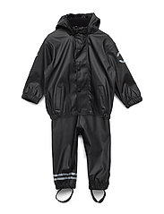 PU RAIN Set w. Susp/98 - 190/BLACK