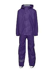 PU RAIN Set w. Susp/98 - 741/DARK VIOLET (REDDISH)