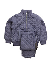 Termo set w. fleece in jacket - DARK SYREN 718