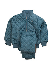Termo set w. fleece in jacket - HAWAIIN BLUE 236