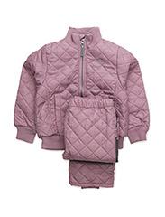 Termo set w. fleece in jacket - LAVANDA 511
