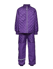 THERMO Set - No Fleece - 741/DARK VIOLET (REDDISH)