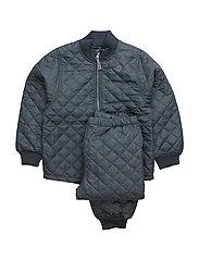 THERMO Set - No Fleece - GRAPHITE GREY SUEDE