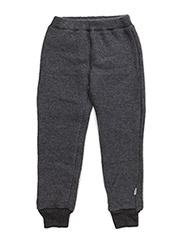 Wool pants - 916/Melangegrey