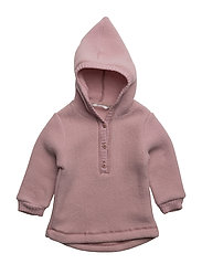Baby Wool Jacket with hat - 509/WildRose