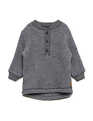 Wool Pullover - 916/Melangegrey