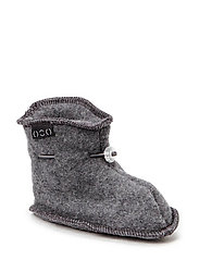 Wool baby shoe - 916/175-189 M MELANGE/GREY