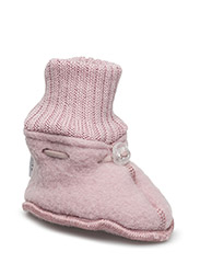 Wool baby shoe - WILD ROSE