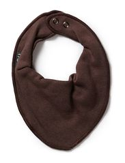 3K small bibs/hagesmæk - 480/DARK BROWN