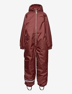 COMFORT suit - regntøj - madder brown