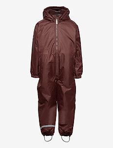 WINTER suit - snowsuit - puce brown