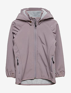 SOFTSHELL Girls Jacket - DUSTY QUAIL
