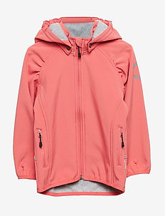 SOFTSHELL Girls Jacket - TEA ROSE