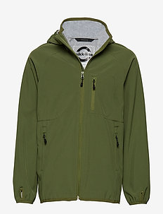 SOFTSHELL Boys Jacket - OLIVE
