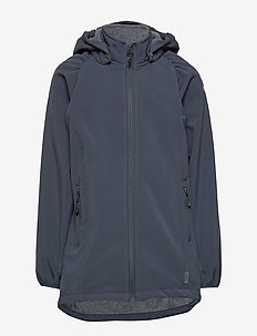 Softshell Girls Coat - kurtka softshell - blue nights