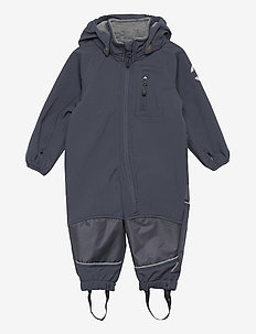 Softshell Boys Suit - softshells - blue nights