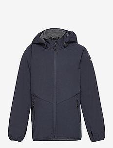 Softshell Boys Jacket - softshell-jakker - blue nights