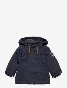 Nylon Baby Jacket - Solid - gewatteerde jassen - blue nights