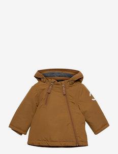 Nylon Baby Jacket - Solid - gewatteerde jassen - rubber