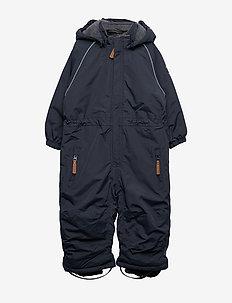 Nylon Junior Suit Solid - vinterdress - blue nights