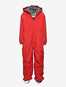 Nylon Junior Suit Solid - vinterdress - pompeian red