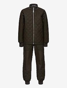 Duvet Set - No Fleece - termotøj - black olive