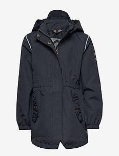 Nylon Girls Coat - jackets - blue nights