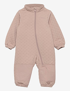 Soft Thermo Recycled Uni Suit - thermo coveralls - adobe rose