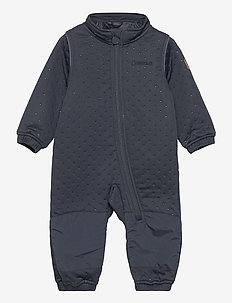 Soft Thermo Recycled Uni Suit - termotøj - blue nights