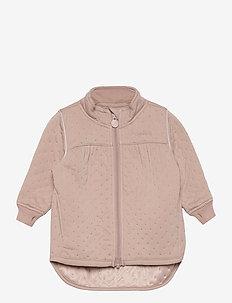 Soft Thermo Recycled Girl Jacket - termojakke - adobe rose