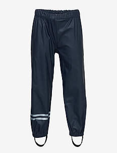PU RAIN pants susp/98 - spodnie - blue nights