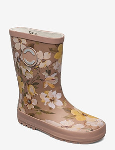 Wellies - AOP - kumisaappaat - cafe au lait