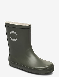 Wellies - Solid - bottes en chaouthouc - dusty olive
