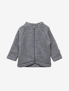WOOL Baby jacket - 916/MELANGEGREY
