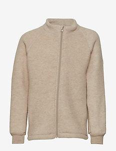 WOOL jacket - 429/MELANGEOFFWHITE