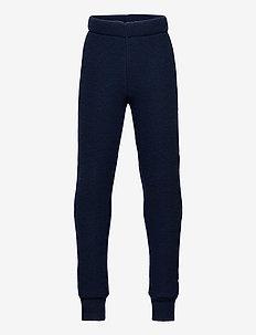 WOOL Pants - bukser - blue nights