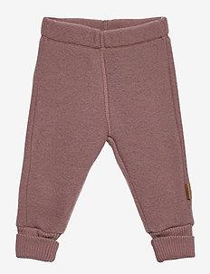 WOOL Pants - trousers - marron