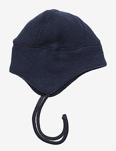 Wool Hat w. String - BLUE NIGHTS