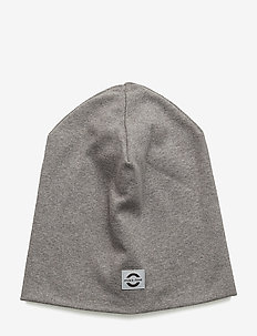 Cotton Hat - Solid - huer - 135/light grey melange