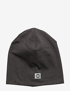Cotton Hat - Solid - huer - 180/dark grey melange