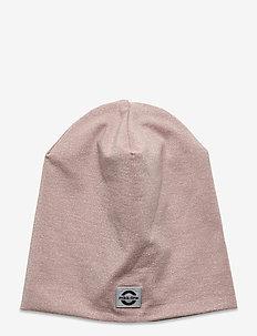 Cotton Lurex Hat - huer - adobe rose