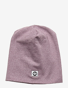 Cotton Lurex Hat - hoed - elderberry