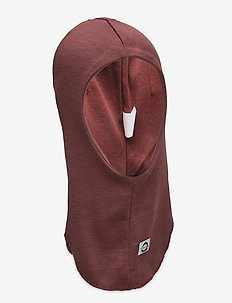 WOOL Fullface - Solid w. Windstop - balaclava - marron