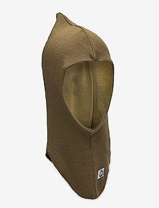WOOL fullface with windstop - balaclava - military olive