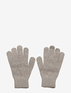 Magic gloves - Knit - vintertøj - 155/graphitegrey