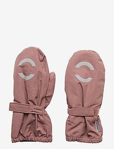 NYLON mittens - ROSE TAUPE