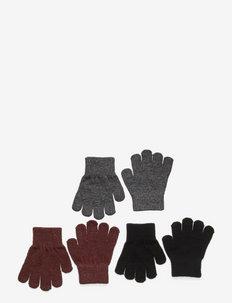 Magic Gloves 3 Pack - moufles - andorra/antrazite/black pack